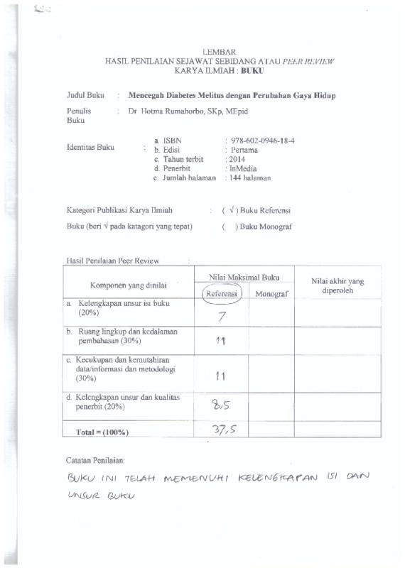 Peer Review-2 Buku; Mencegah Diabetes.....pdf