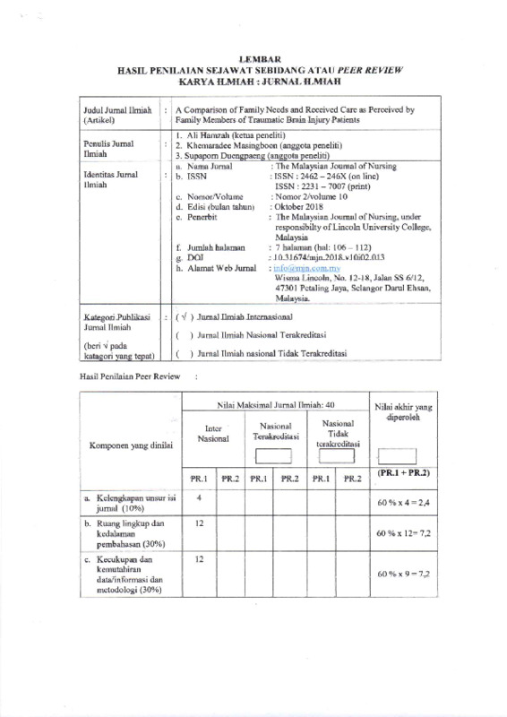 Hasil peer review artikel family need.pdf