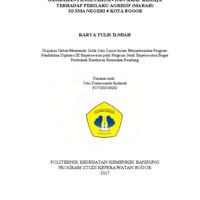 Gambaran Pengetahuan dan Sikap Remaja<br /> terhadap Perilaku Agresif (Marah)<br /> di SMA Negeri 4 Kota Bogor