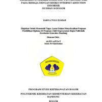 Gambaran Interaksi Sosial dan Penyesuaian Diri pada Remaja dengan Resiko Internet Addiction Disorder di SMAN 10 Bogor