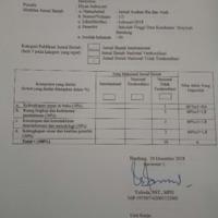 Peer review Jurnal Ilmiah, judul : HUBUNGAN STATUS GIZI DENGAN KADAR PROLAKTIN SERUM IBU MENYUSUI