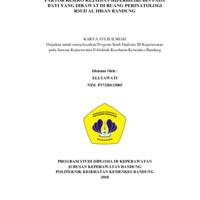 FAKTOR RESIKO KEJADIAN HIPERBILIRUBIN PADA BAYI YANG DIRAWAT DI RUANG PERINATOLOGI RSUD AL IHSAN BANDUNG<br />